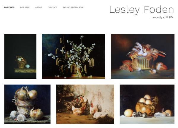 Lesley Foden Art