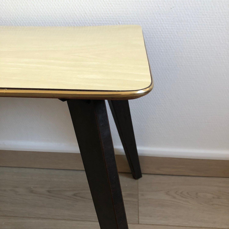 Table Basse En Formica table basse formica ivoire et or vintage 1960 — jolie vieillerie