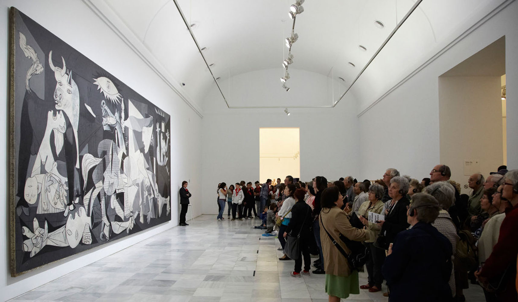 Guernica in Gallery for Display