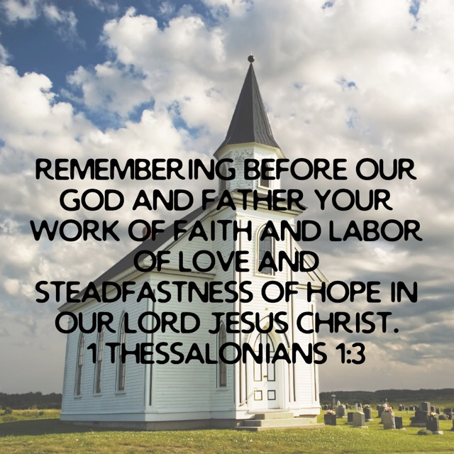 Sermons From 1 Thessalonians