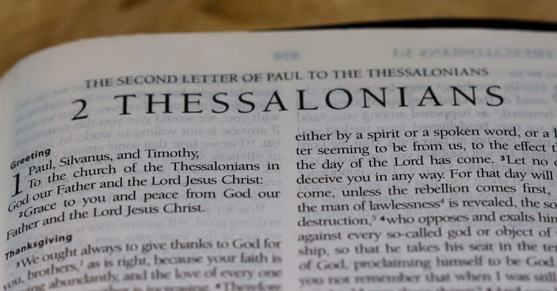 Sermons From 2 Thessalonians