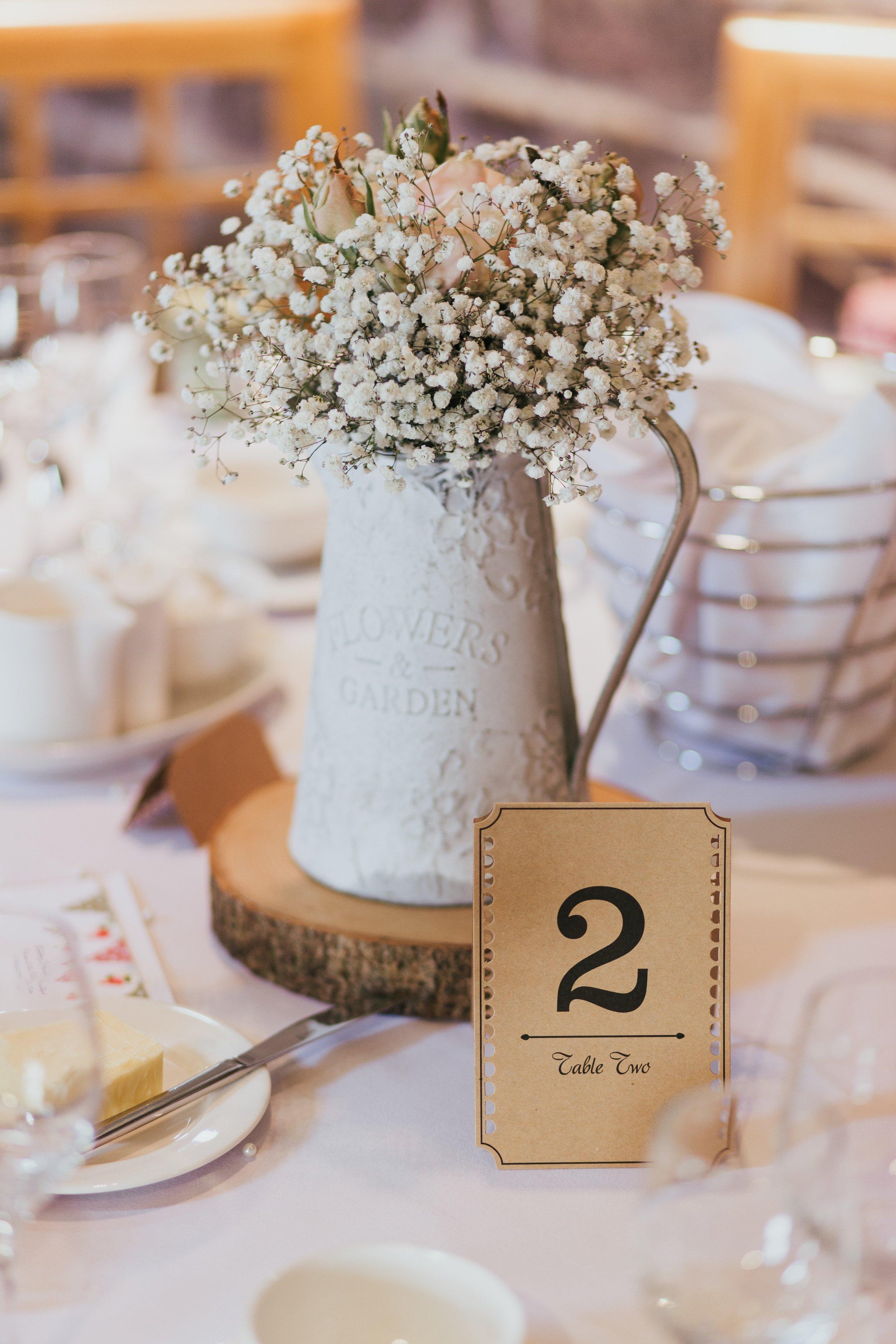 wedding table photography