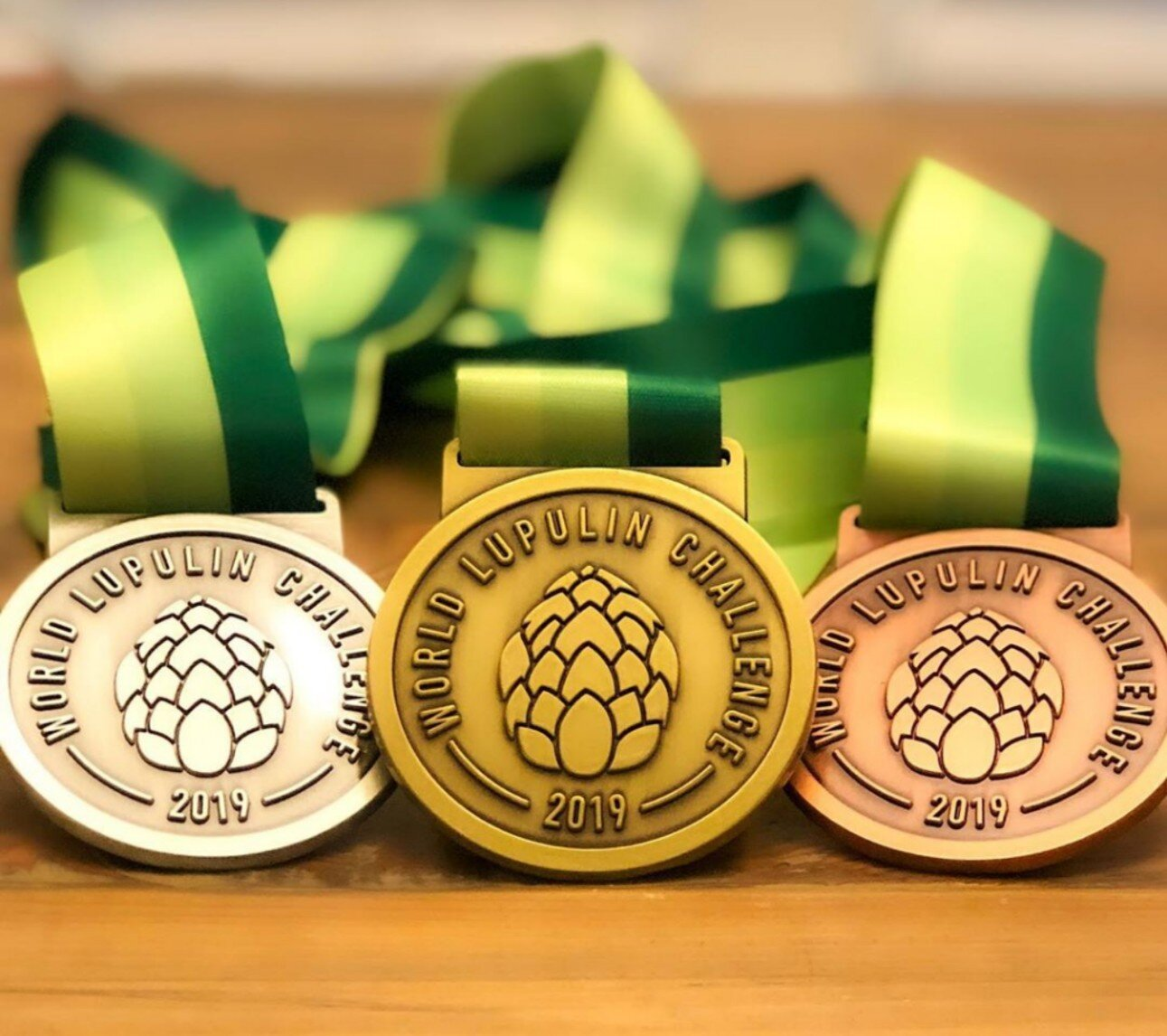 2019 World Lupulin Challenge - Gold Medal winner Sens Lives Session IPABronze Medal winner Quarry Juice DIPA