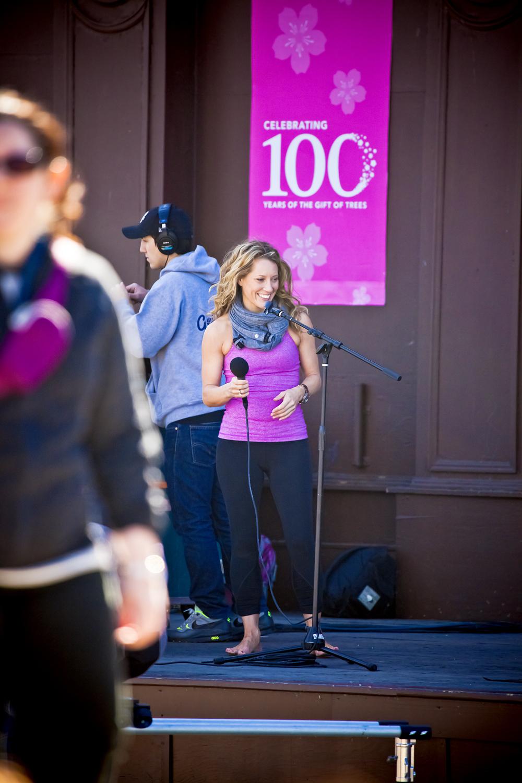 Alison Adams the best yoga teacher in Washington, D.C. at Cherry Blossom Yoga