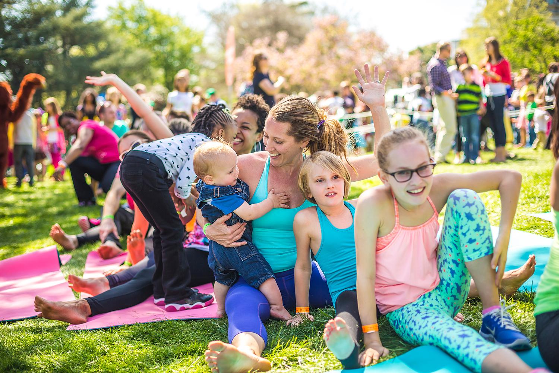 Alison Adams from Homegrown Power Yoga kids yoga