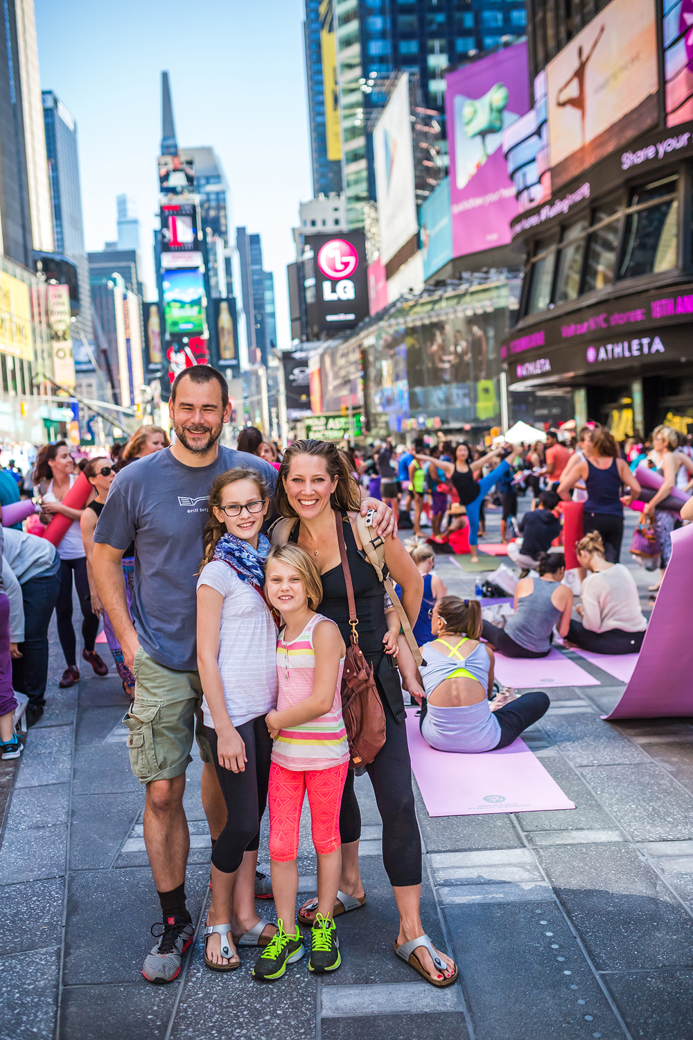 Alison Adams Homegrow Power Yoga at Times square yoga