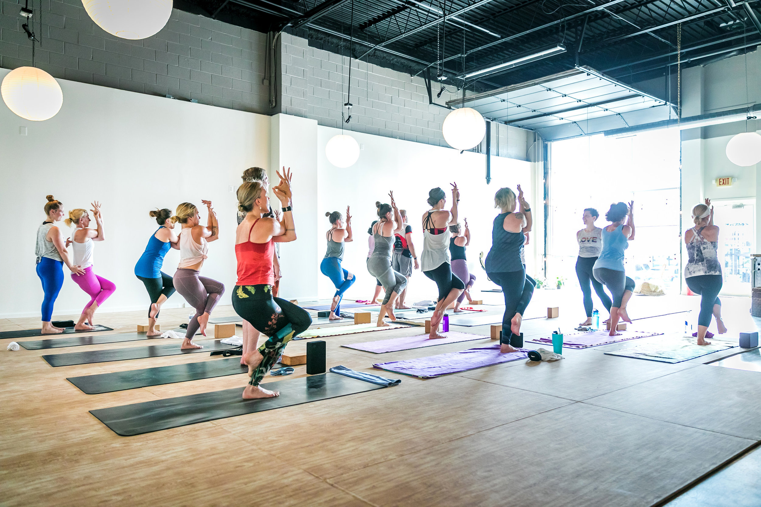 Homegrown Power Yoga Class in Fairfax county