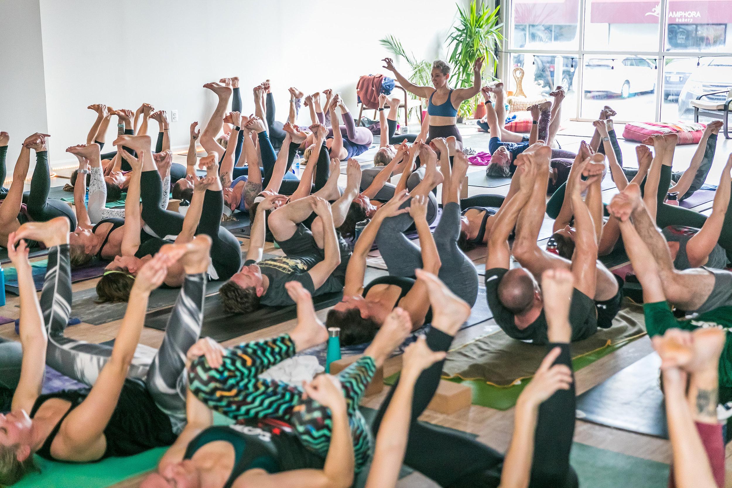 Hot yoga classes Reston, VA