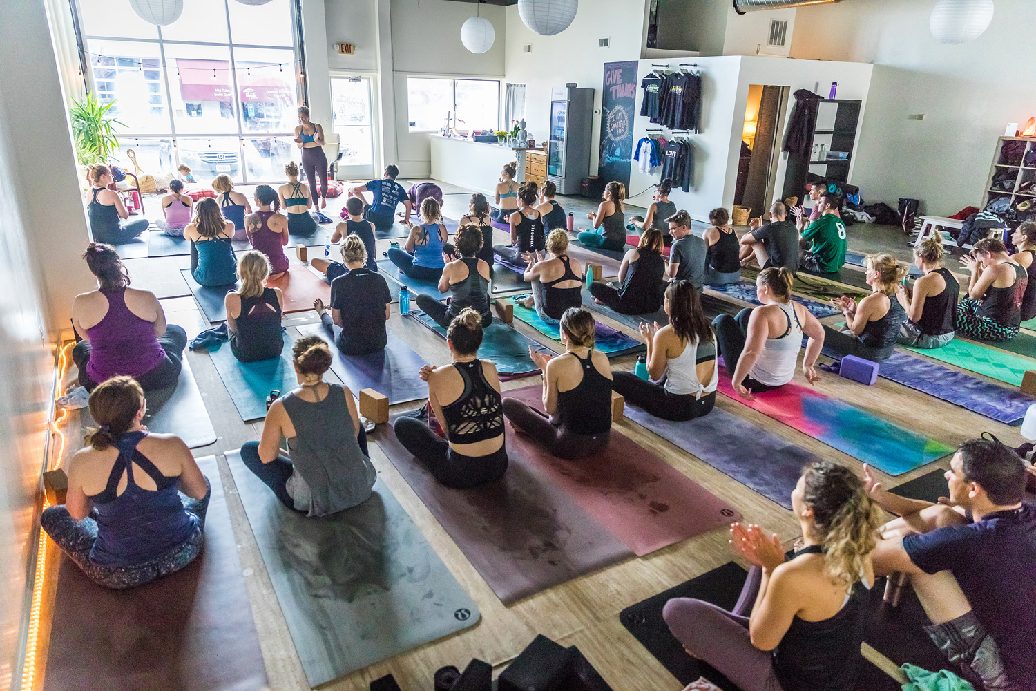 Homegrown Power Yoga teaches Hot Vinyasa Flow Yoga