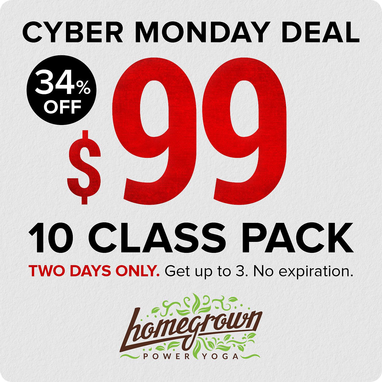 Cyber Monday Deal Homegrown Power Yoga SOCIAL.jpg
