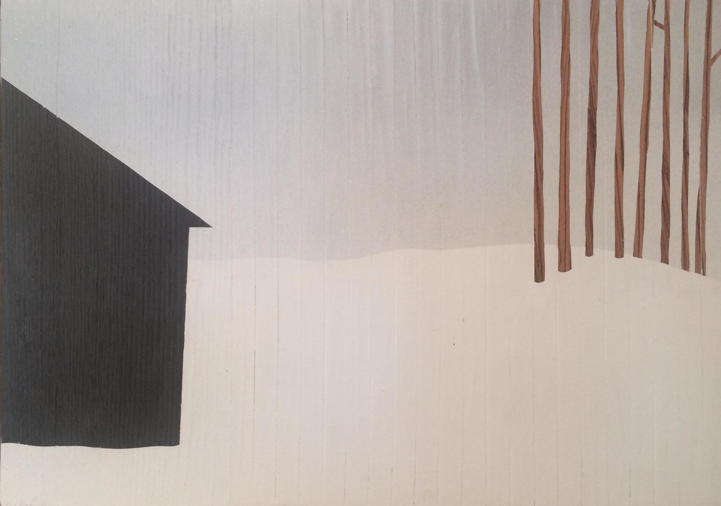 Oak House by Rennie Pilgrem