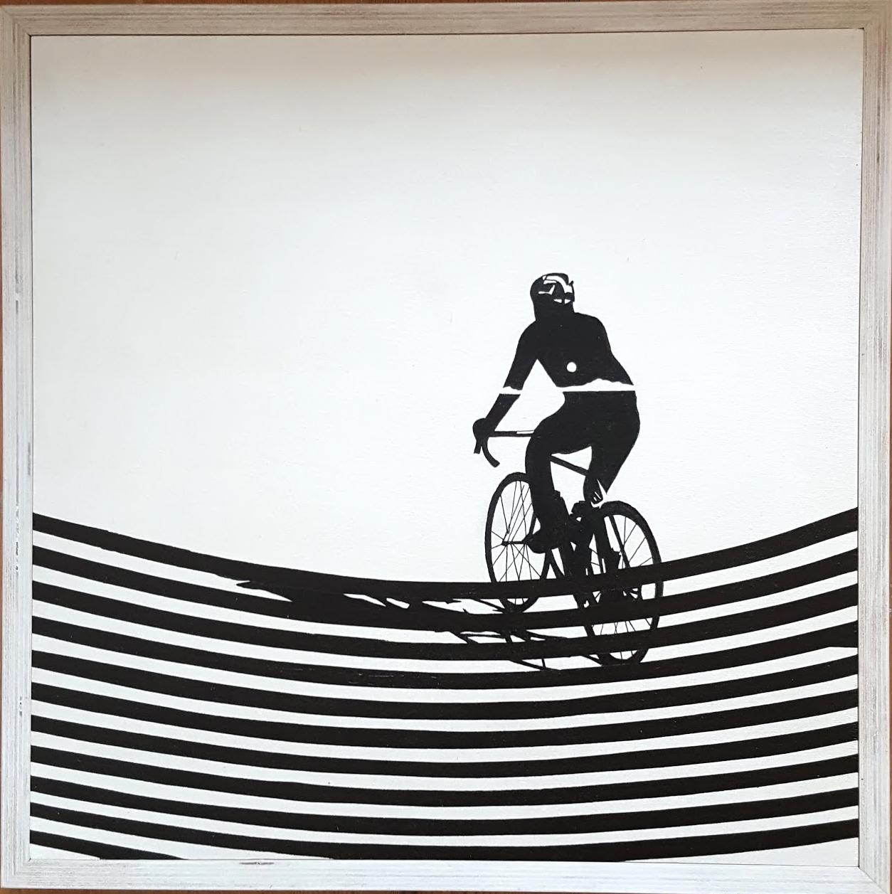 Cyclist by Rennie Pilgrem