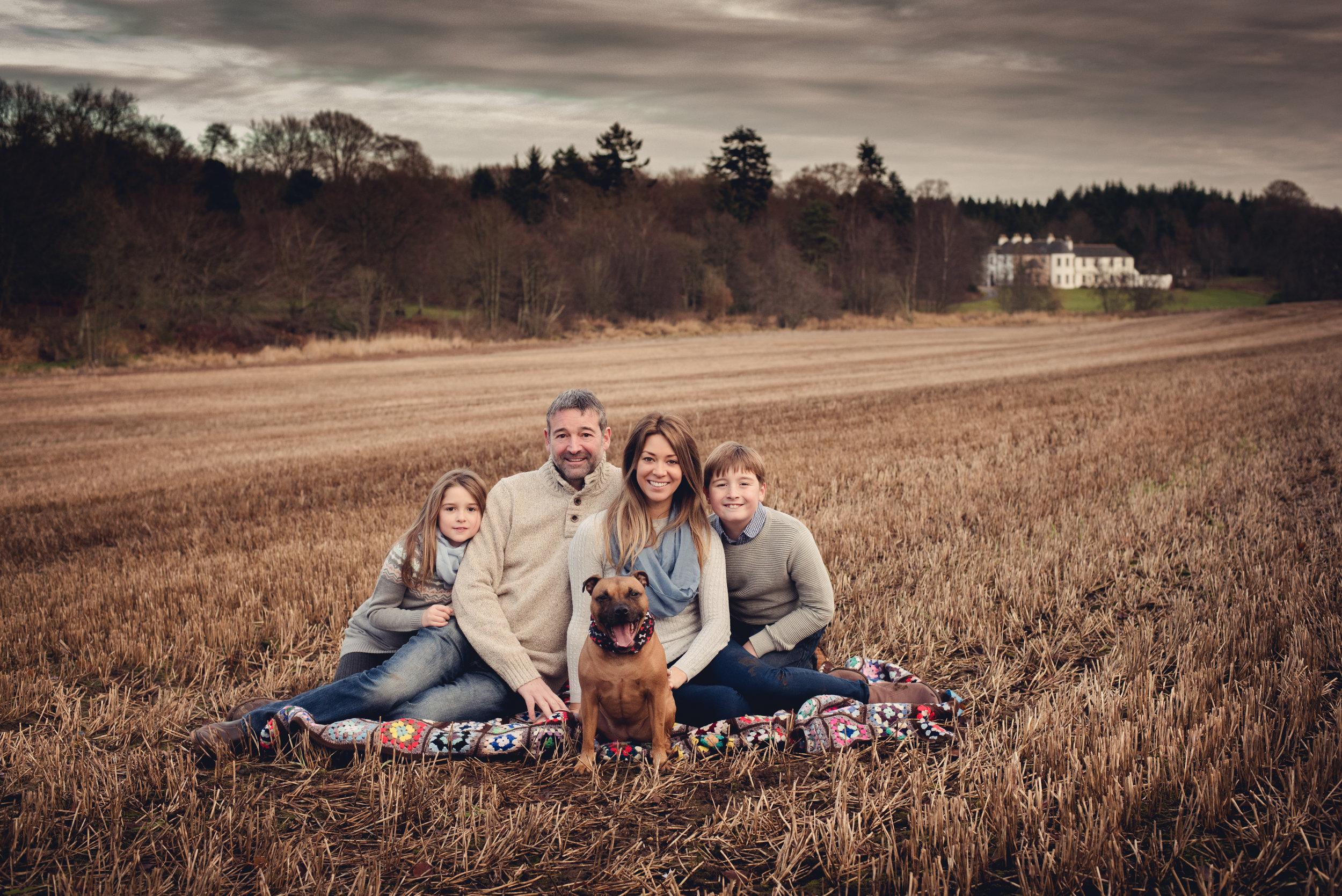 family portrait aberdeen Kingshill