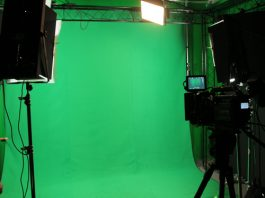 Our studios include green screen set up to give your video all types of elements.