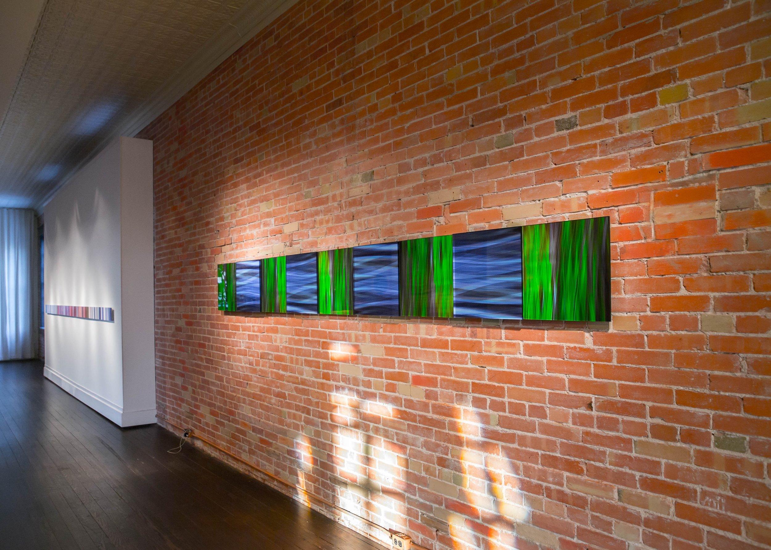 """""""The Fine Line,"""" Vaudeville Gallery, Fredericksburg TX. 2014"""
