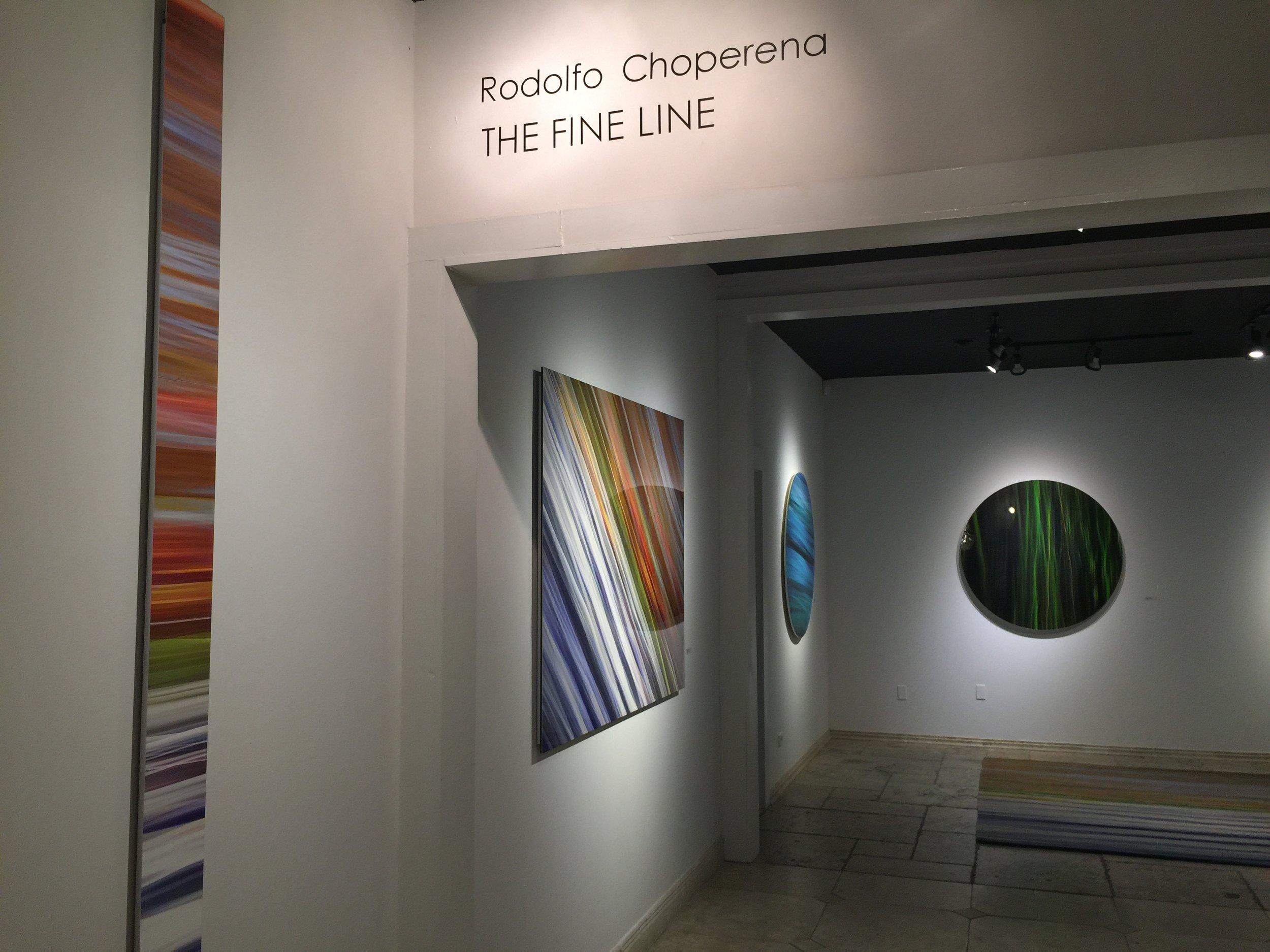 """""""The Fine Line,"""" Cinq Gallery, Dallas, TX. 2015"""