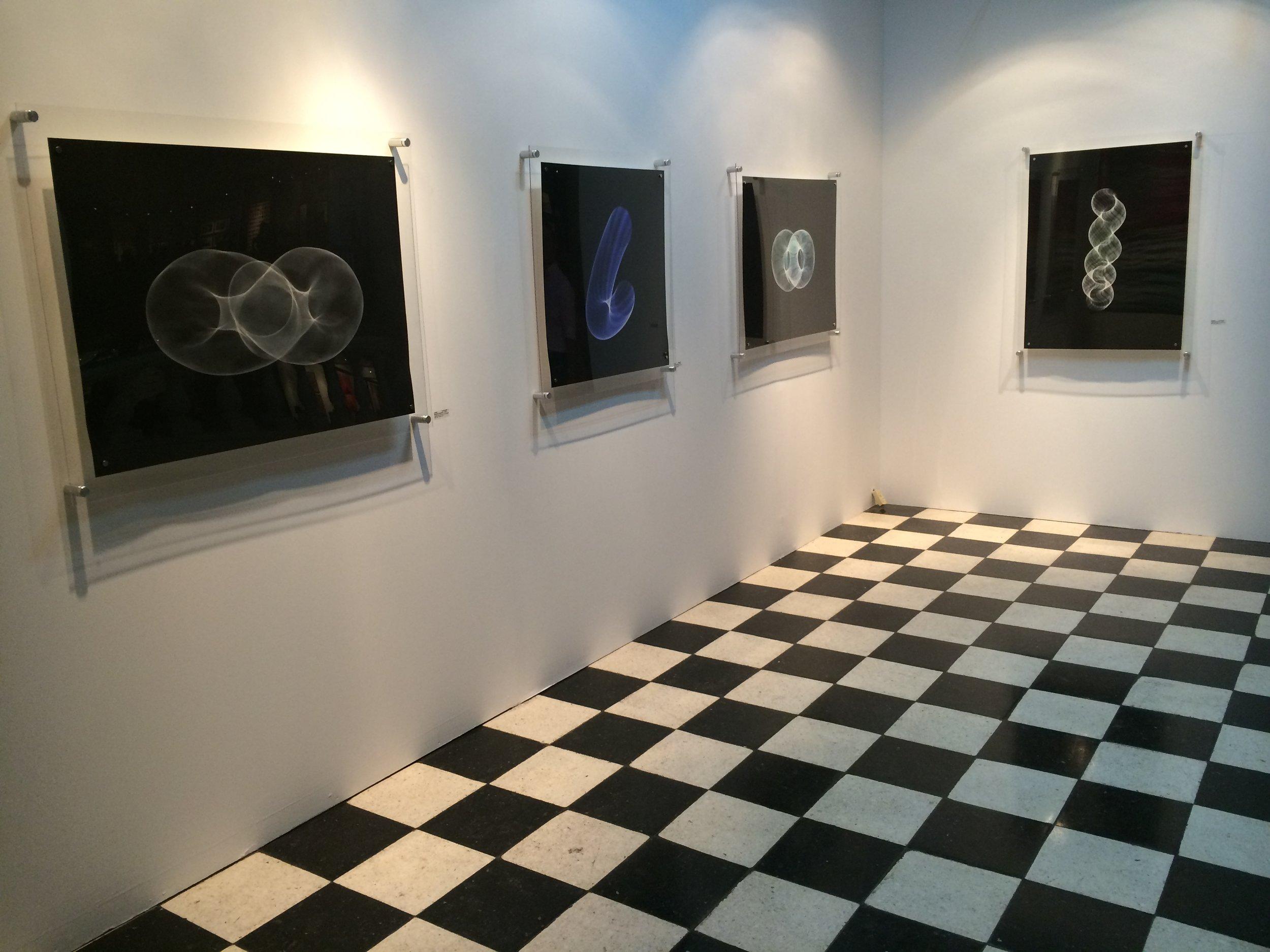 Interventions of Light, Art Lima, Lima Peru. 2014