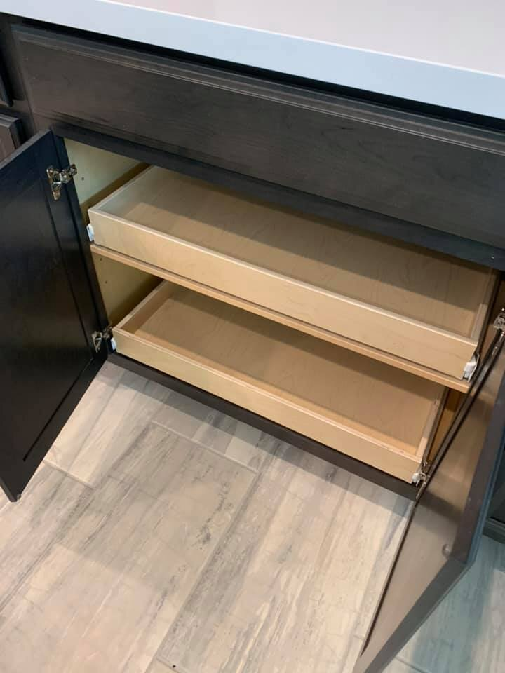 Pull Out Cabinet Drawers Sliding, Roll Out Cabinet Drawer