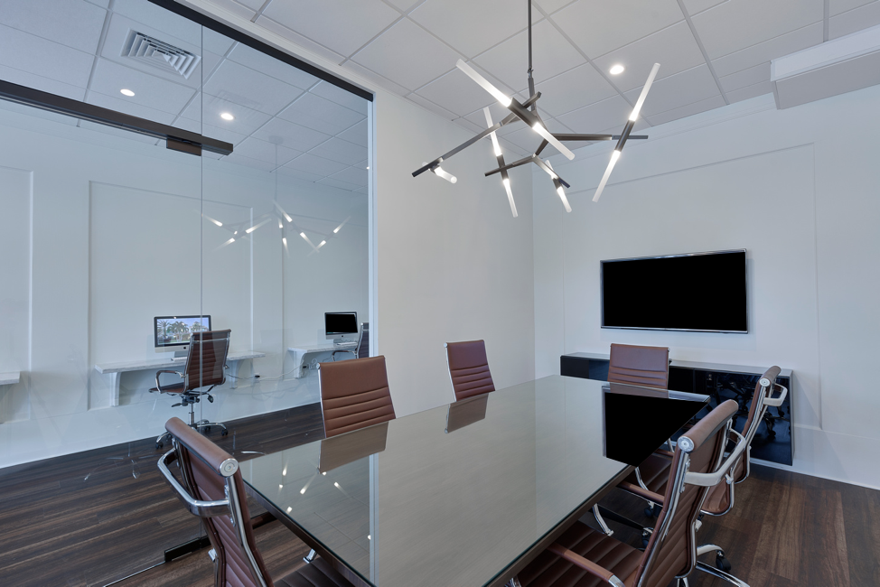 Conference Room and Agent Workspaces