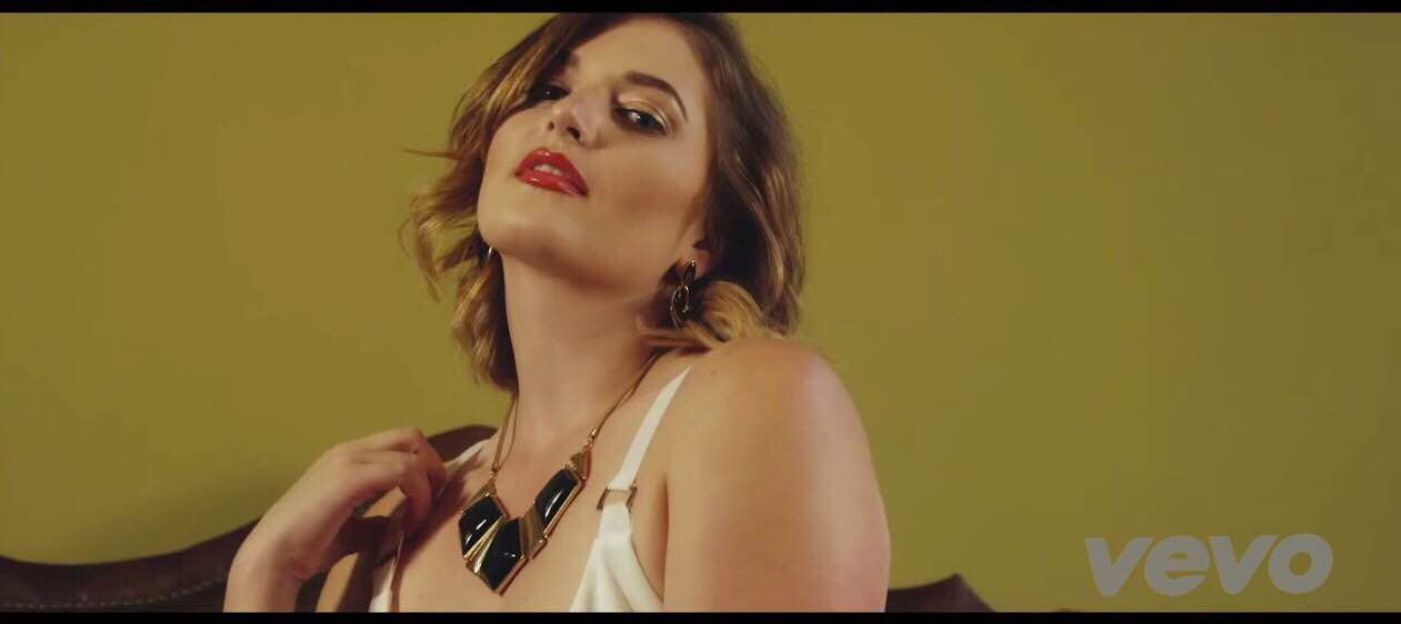 "Katie Carpenter in Runzy's ""One and Only"" music video"