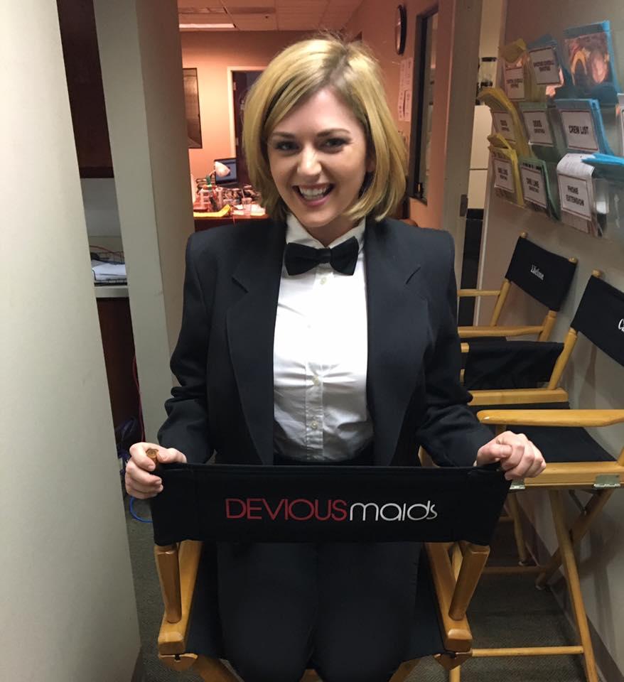 "Actress Katie Carpenter on Lifetime's ""Devious Maids"""