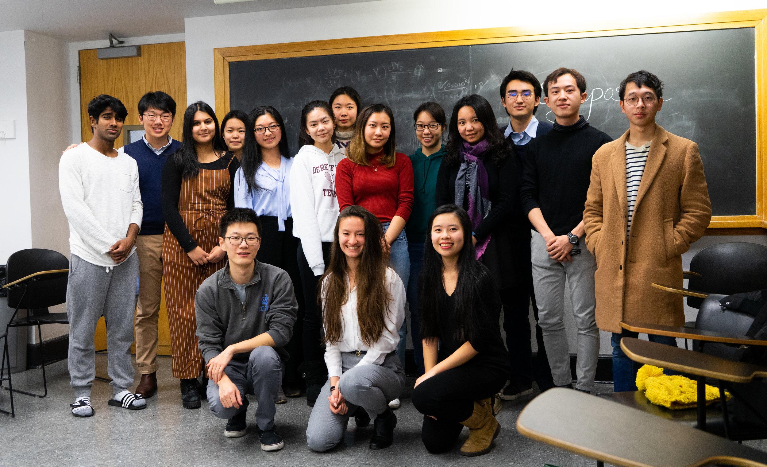 Symposium Team 2018~2019
