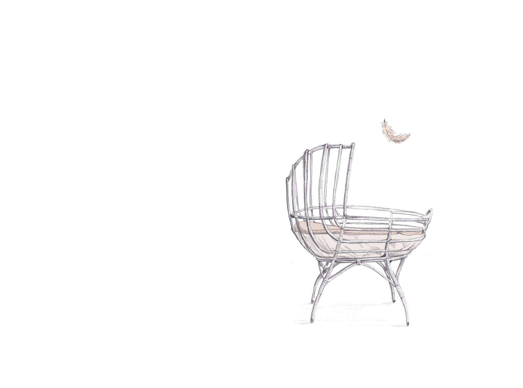 """Ilustración para """"Canción para saber dónde"""", de Mar Benegas."""