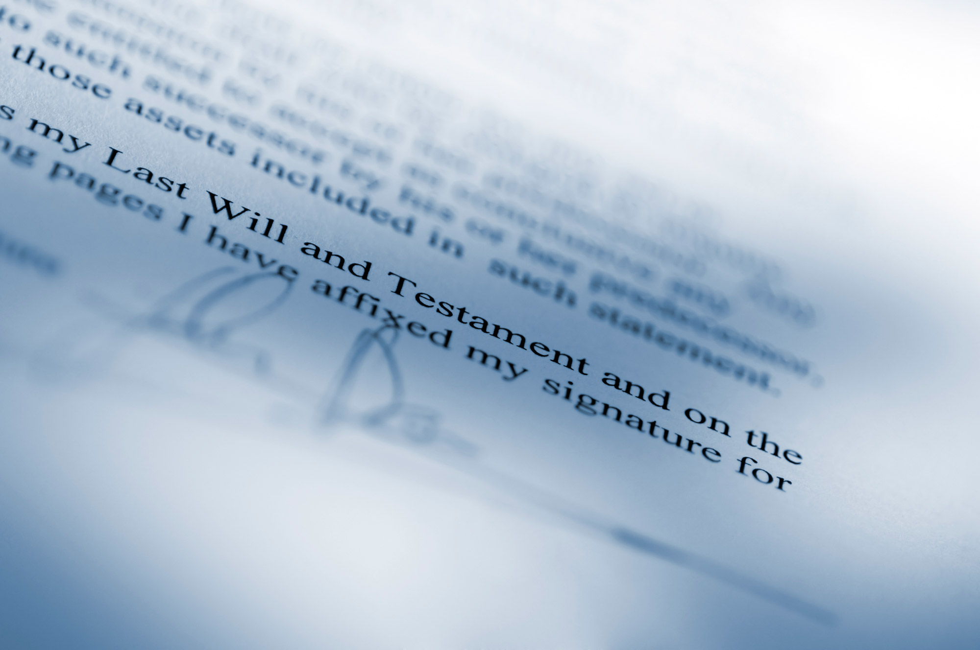 Trusts and Estate Planning -