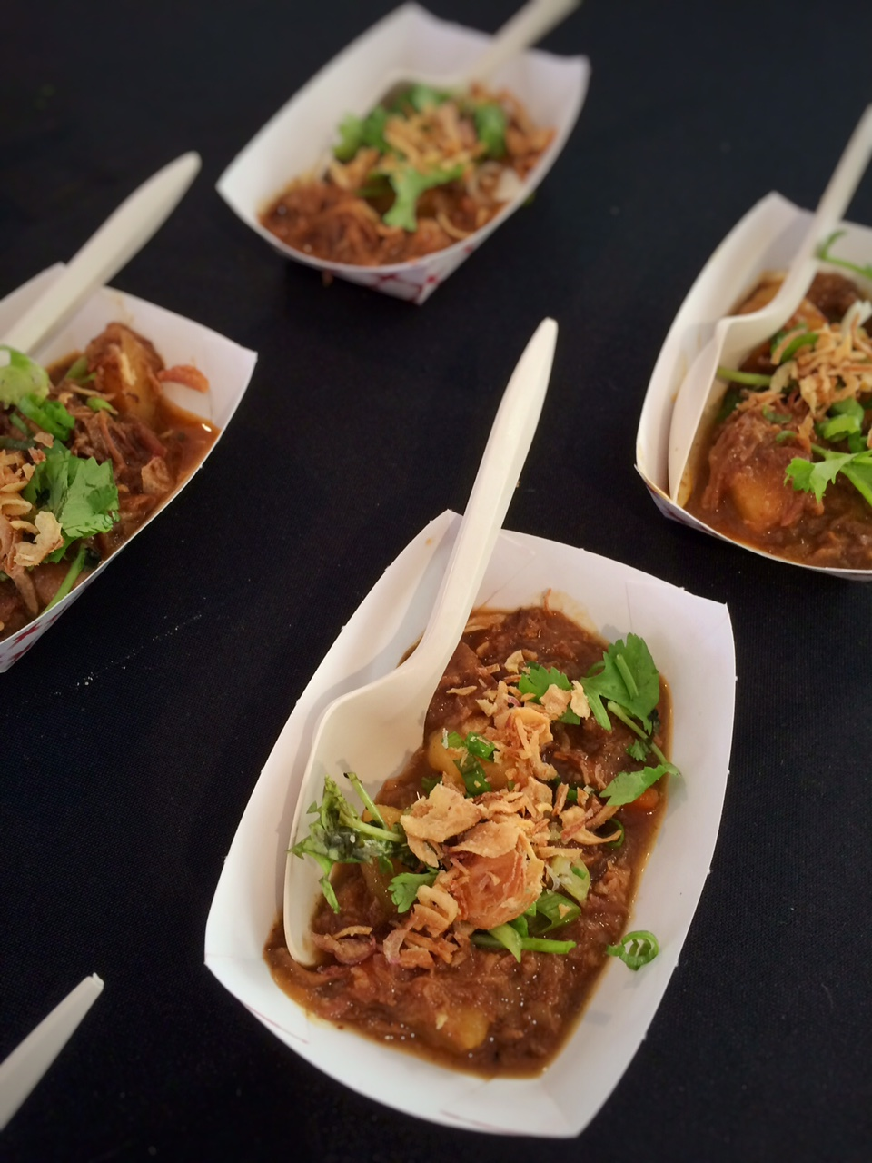 Vietnamese Goat Curry by Chef Dustin Clark - Besaws, Feast Portland 2015
