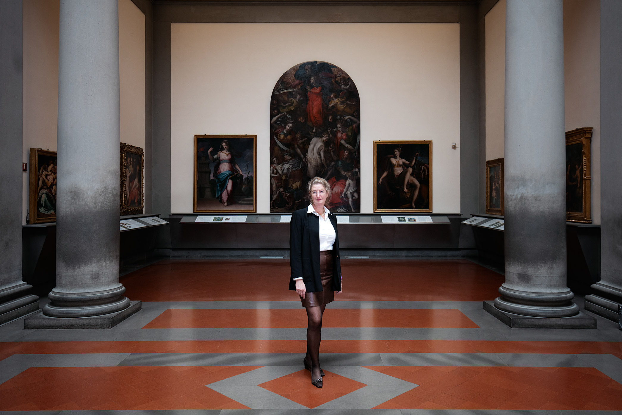 Cecilie Hollberg, Director of Galleria dell'Accademia, Florence