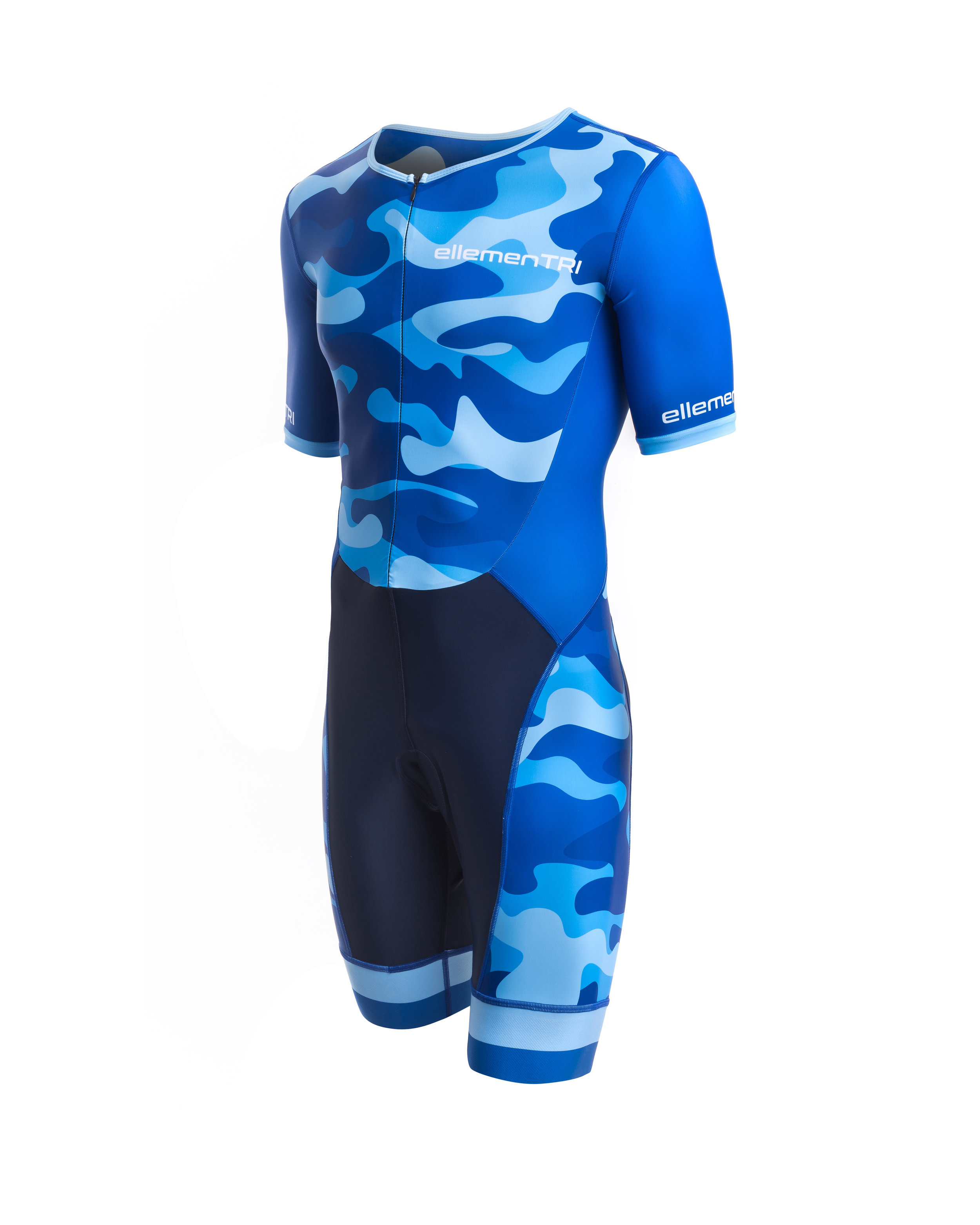 ellementri mens Cammo  triathlon Tri Suit