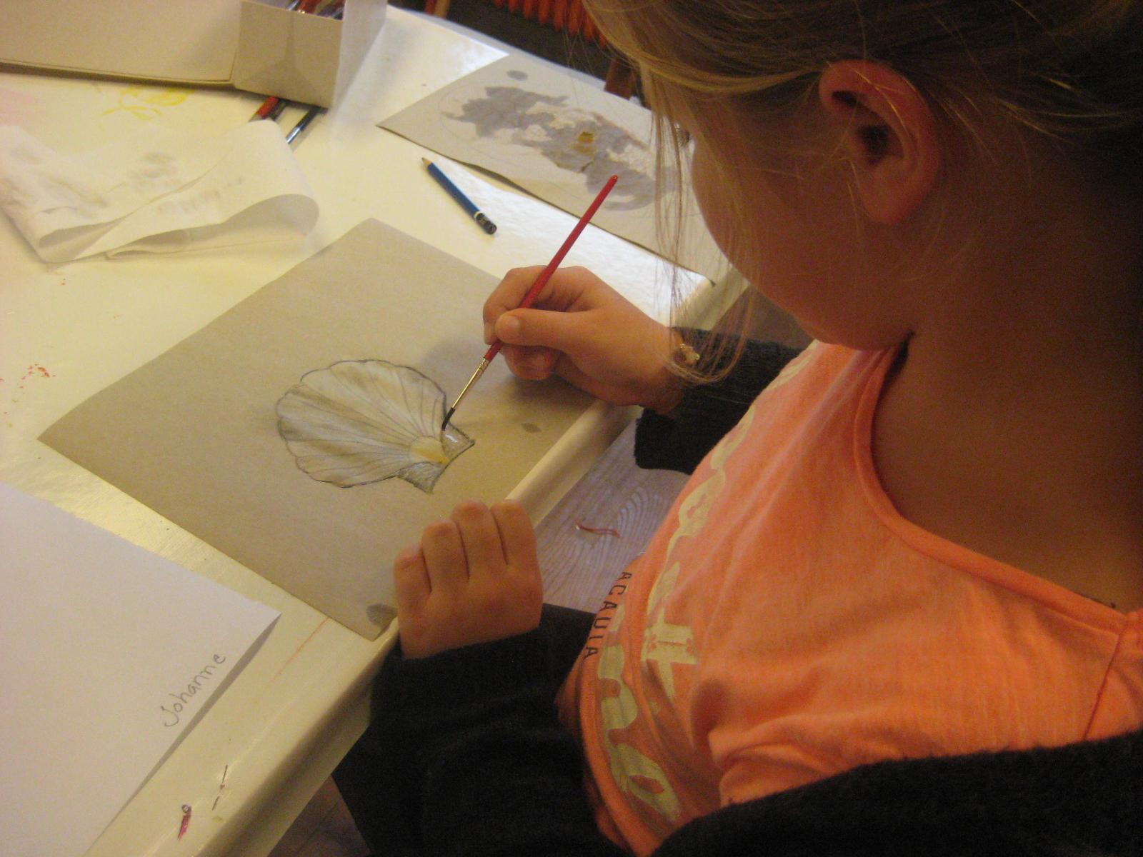Tegning for alle - v/Henny Asboe på Billedskolen ved Heltborg Museum mandag kl. 14 - 17.