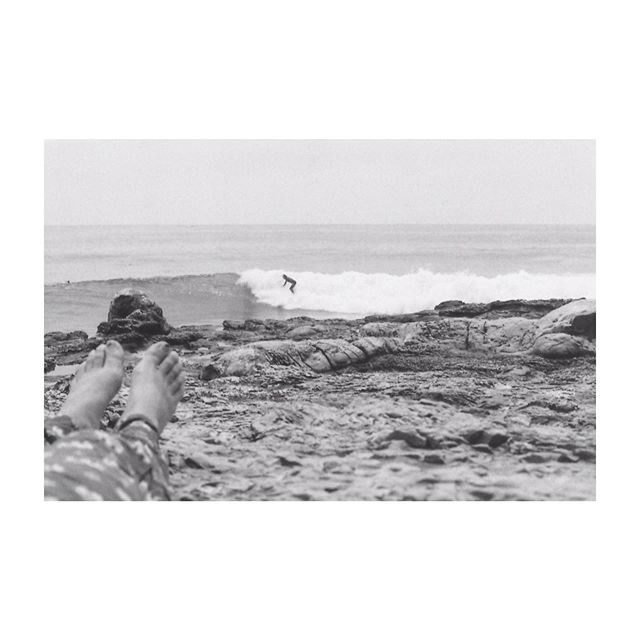 Some days you don't want to get in the water, and that's just fine.  #35mm #film #bwfilm #surf