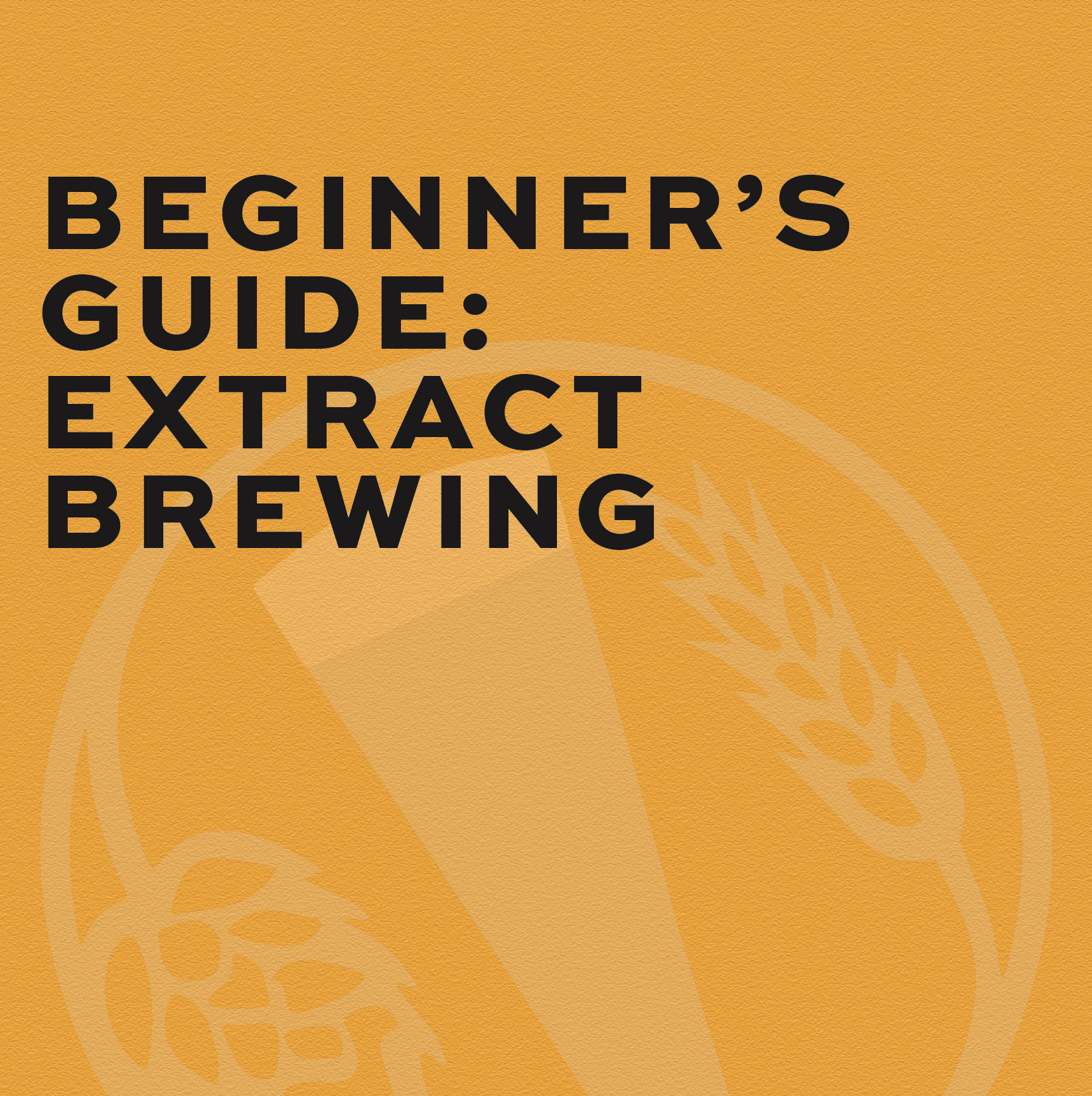 Beginner's Guide: Extract Brewing
