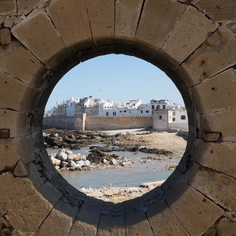 The seaside town of Essaouria, Morocco