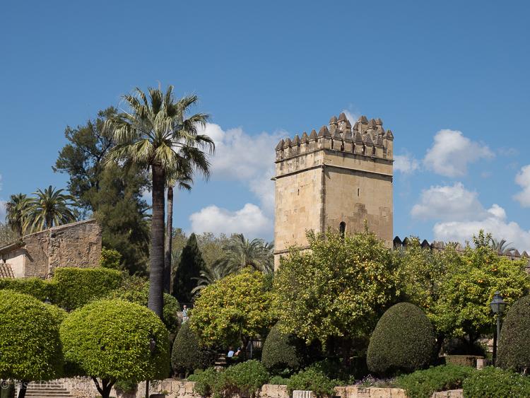 Alcazar de los Reyes Cristianos, Cordoba, Spain