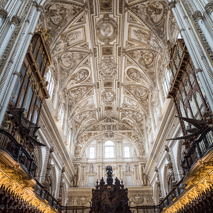 The Cathedral inside the Mezquita, Cordoba, Spain