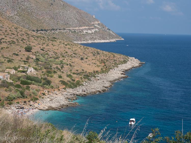 Along the coast hike in Zingaro Reserve