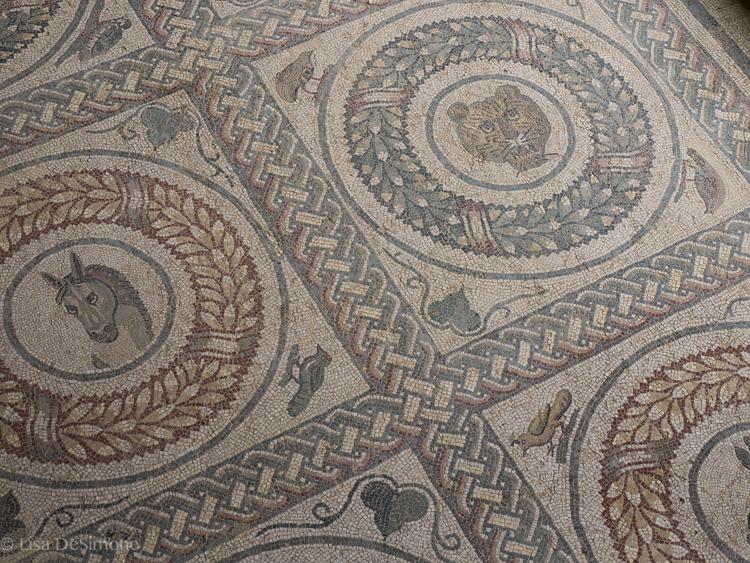 Mosaics atVilla Romana del Casale