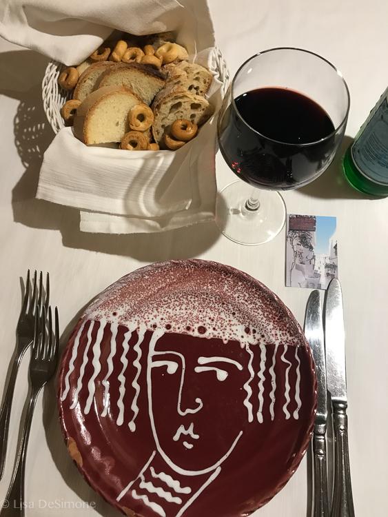 Lunch at  Osteria del Tempo Perso in Ostuni.