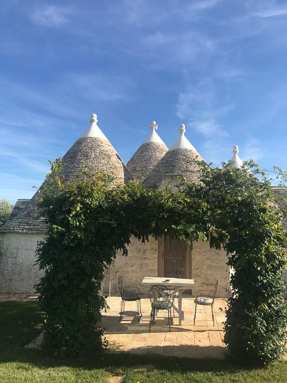 my home for 5 nights at leonardo trulli resort
