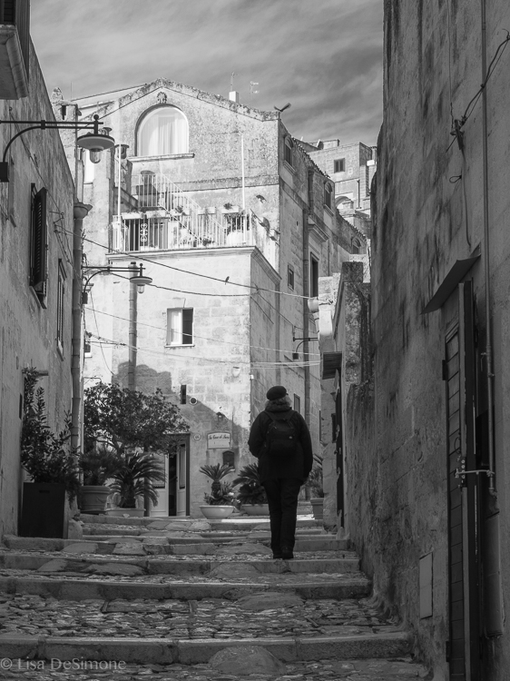 Early morning in Matera