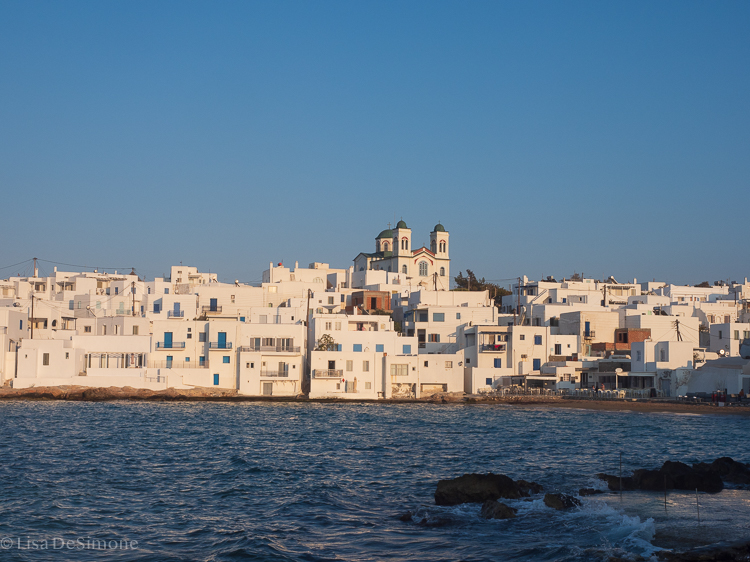 Naoussa, Paros - as seen from the harbor