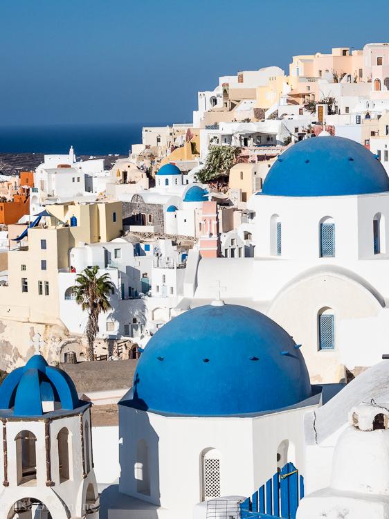 Santorini - being gorgeous