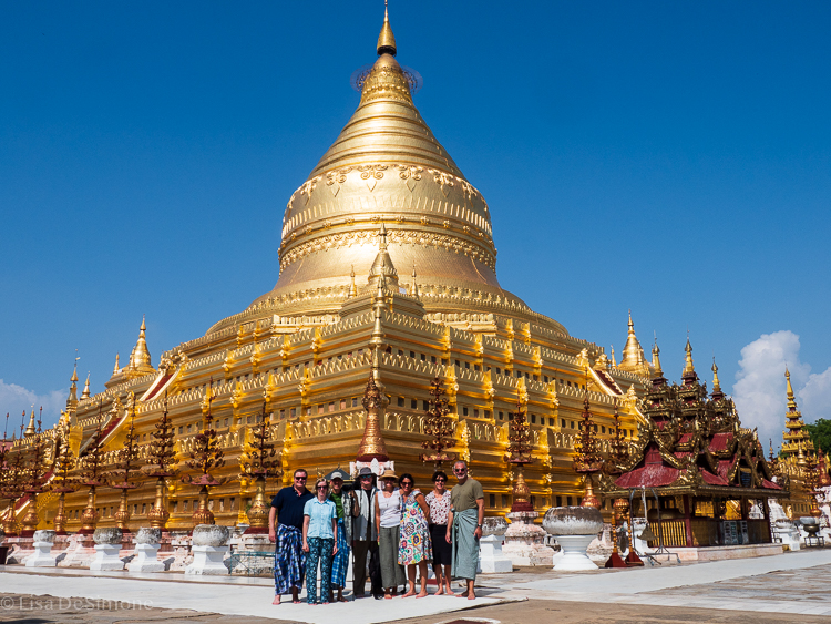 Sharing Myanmar with my friends was a wonderful gift