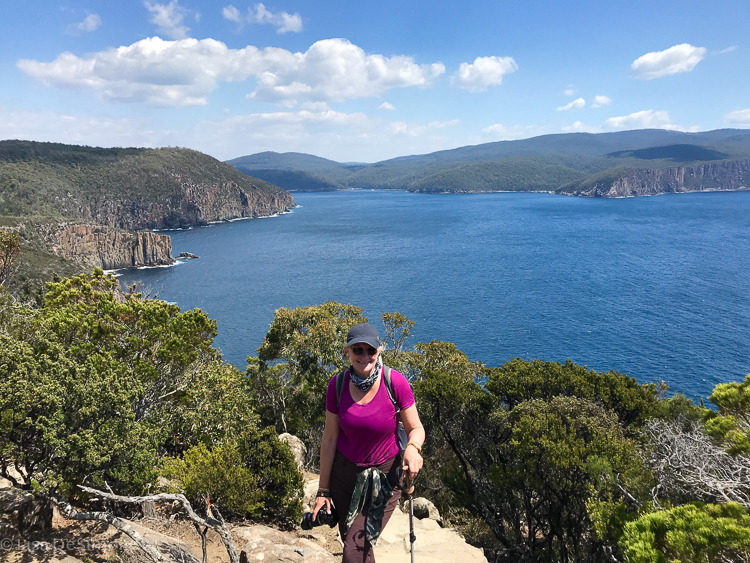 The last day of the Three Capes Track and I made it to the end of Cape Hauy!