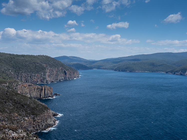 Amazing views can be found from the viewing platform at the end of Cape Hauy on day 4.