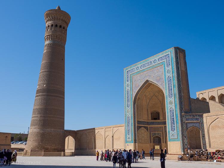 Kalyah minaret. Bukhara, Uzbekistan