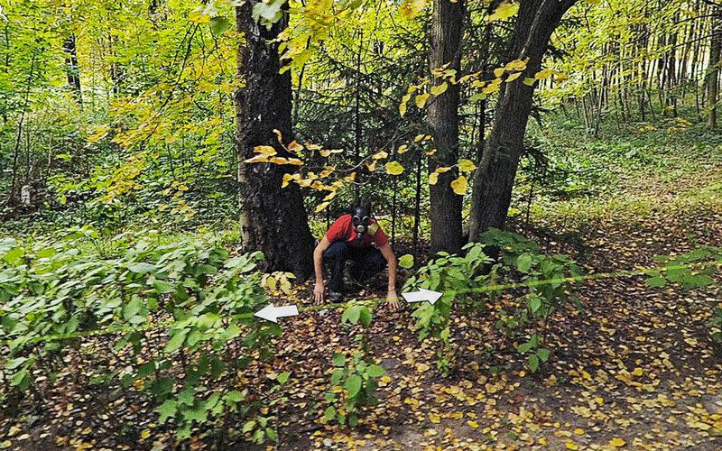 Jon Rafman, Bitsa Park (Bitsevski Park) Moscow, Russia, 2010, de la série Nine Eyes (in progress), impression pigment archive, permission de Jon Rafman, Galerie Antoine Ertaskiran, Montréal, Zach Feuer Gallery, New York, Seventeen Gallery, Londres (G.-B.).