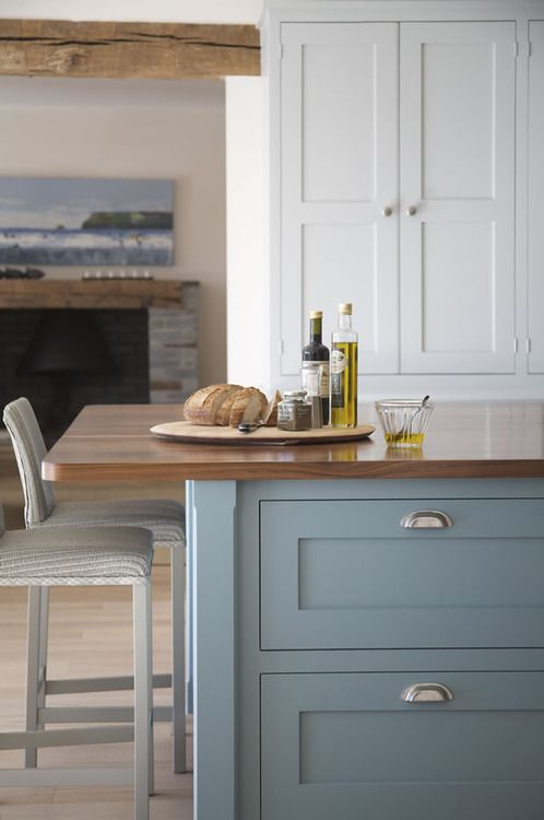 Herrington Blue by Farrow & Ball, Design by  Perring Properties